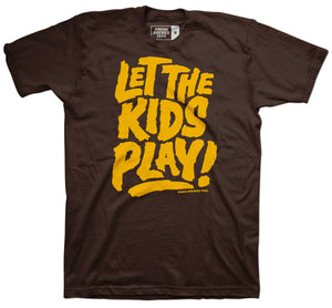 San Diego Baseball Let the Kids Play T-shirt