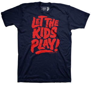 Cleveland Baseball Let the Kids Play T-shirt