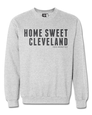 Home Sweet Cleveland Heather Grey Sweatshirt