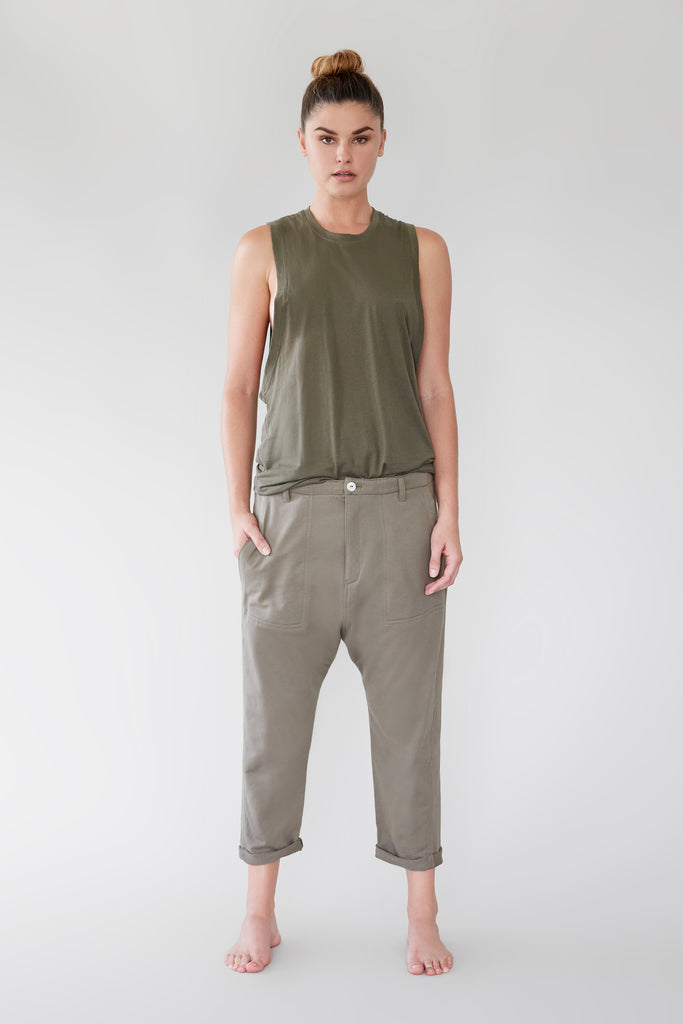 DUBLIN PANT (SILK) - RESORT 2019