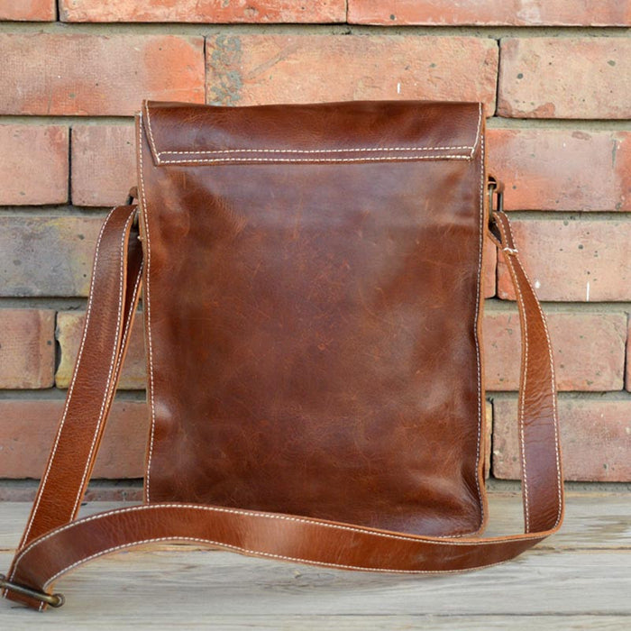 Leather Handmade Satchel