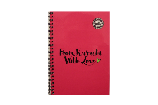 Notebook - From Karachi With Love