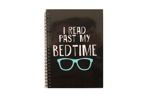 Notebook - I Read Past My Bedtime