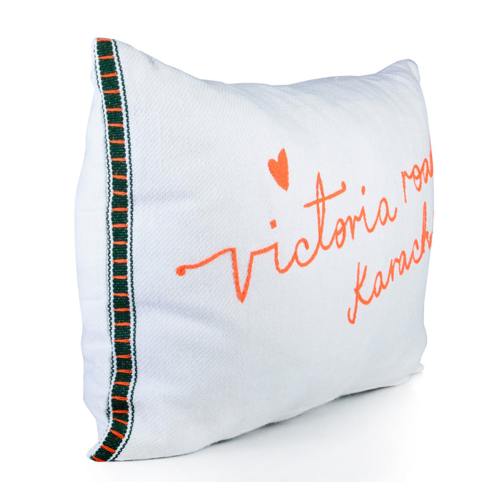 Victoria Road Cushion