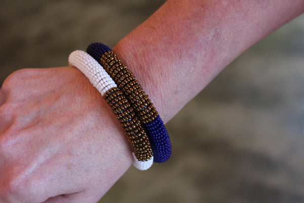 Nakai Beaded Bangle
