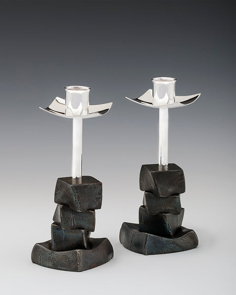 Stacked Block Candlesticks