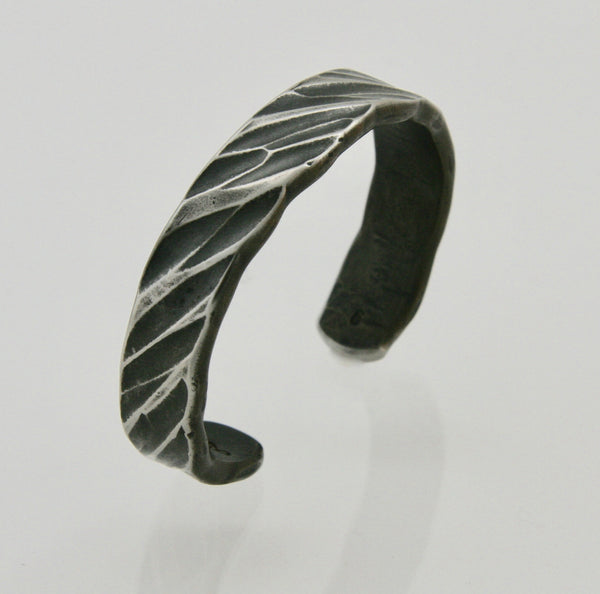 Wide Rope Pattern Cuff Bracelet: Men & Women