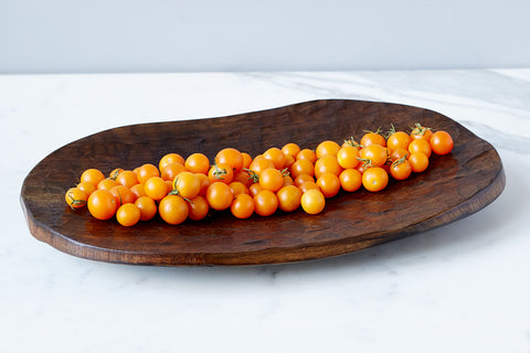 Hammered Wood Stave Tray