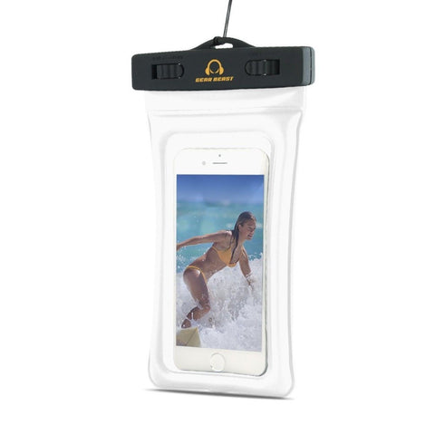 Waterproof Case Floating TPU Phone Bag for smartphones to 5.7 inches includin... - Chickadee Solutions - 1