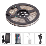 Sunnest 16.4ft 5M Waterproof Flexible LED Strip Lights 5050SMD RGB 300 LED Co... - Chickadee Solutions - 1
