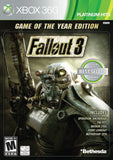 Fallout 3: Game of the Year Edition Xbox 360 12967 093155129672 - Chickadee Solutions