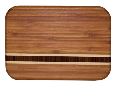 Totally Bamboo Barbados Cutting Board Barbados 9 x 6.5-inch - Chickadee Solutions - 1