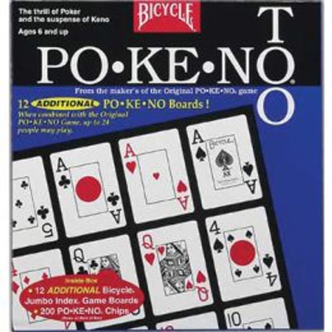 Pokeno 2 US Playing Cards - Chickadee Solutions - 1