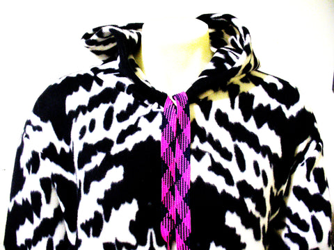 BLIM! One of Few Fleece B/W Abstract Onesie