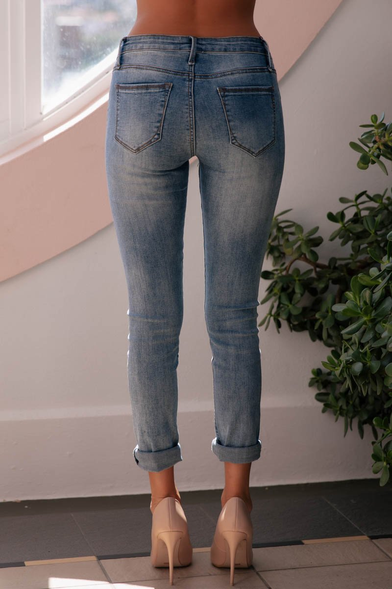 AVA JEANS - BLUE