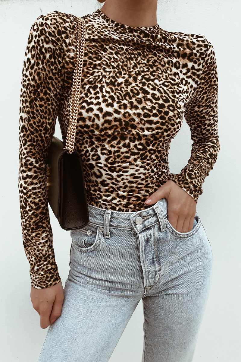 DRAGON BODYSUIT - LEOPARD