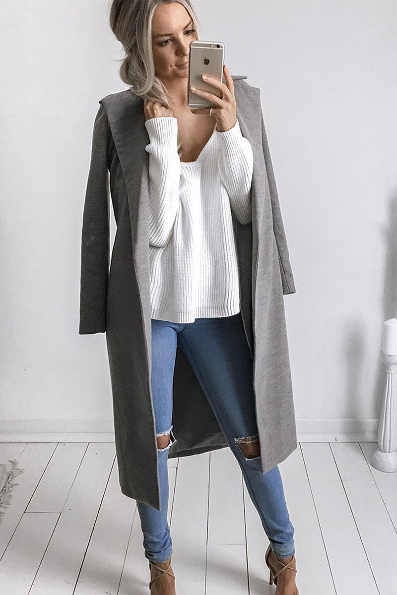 HARLEM COAT GREY