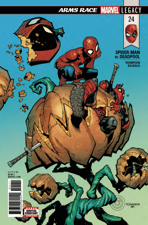 Spider-Man | Deadpool | 24 | Comic