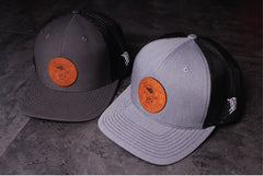 Sand Sock Gear Snapback Leather Patch Hat