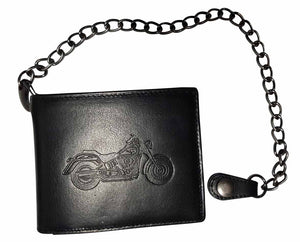 Biker Chain Wallet Black