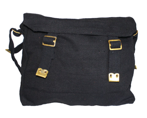 Image of Canvas Messenger Shoulder Bag-BG054