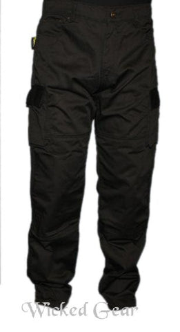 Image of Cotton Twill Cargo Motorcycle Pants With DUPONT™ KEVLAR® FIBER