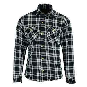 Johnny Reb 'waratah' Plaid Kevlar® Shirt-Black