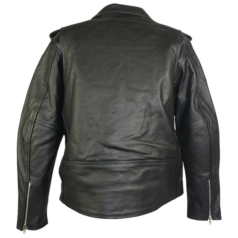 Brando Style Leather Motorcycle Jacket