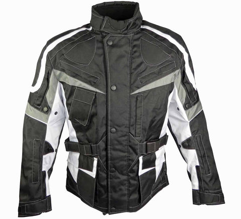 Classic Touring Motorcycle Jacket With Multiple Air Vents-Luke
