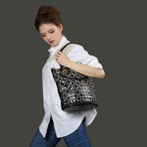 Black Bling Tote Bag