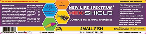 New Life Spectrum HEX Shield Small Fish 120g .5mm