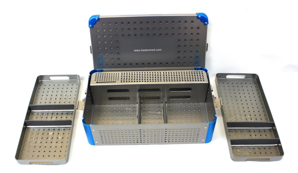 Veterinary Orthopedic Instrument Case 3.5/4.0 With Screw Rack
