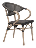 Marseille Outdoor Bistro Chair - Set of 2 - gardenmybalcony.com - 1