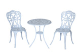 Meadow Decor Outdoor Bistro Aluminum Table and Chairs Set - gardenmybalcony.com - 11