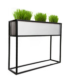 NMN Designs Madeira Aluminum Window Box / Barrier Planter -  - 1