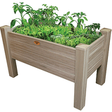 Gronomics Easy Assembly Elevated Garden Bed - 24X48X32 - Vinyl - gardenmybalcony.com - 1