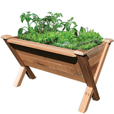 Gronomics Easy Assembly Rustic Garden Wedge 34X48X32 - gardenmybalcony.com - 1