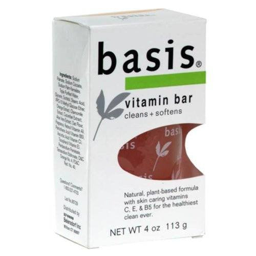 Basis Vitamin Bar Soap 4 oz
