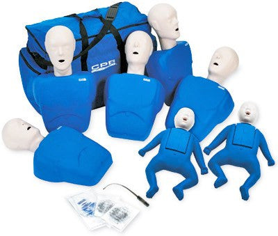 CPR Training Manikins Set of 7