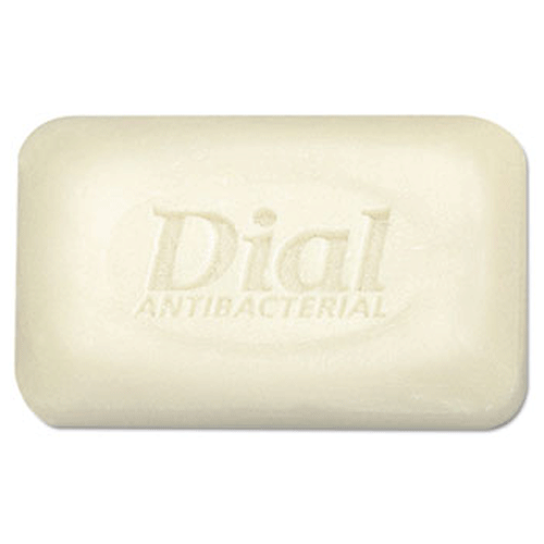 Dial Deodorant Bar Soap 2.5 oz White Unwrapped, 200/Case
