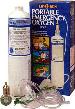 Portable Emergency Oxygen Tank Kit (Single Pack)