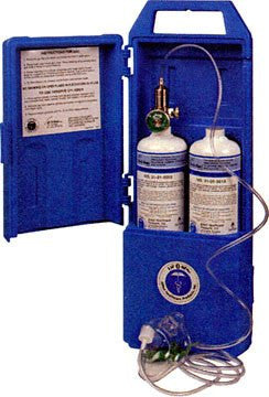 Portable Emergency Oxygen Tank Kit (Twin Pack)