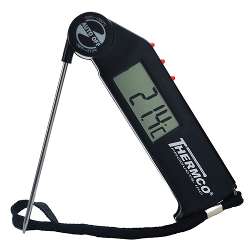Thermco Flip-Probe Digital Pocket Thermometer
