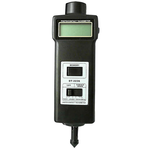 Multifunctional Photo, Contact & Surface Tachometer