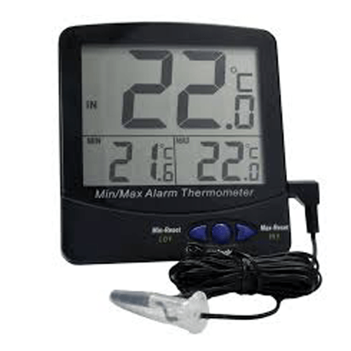 Large Triple Digit Display Screen Thermometer
