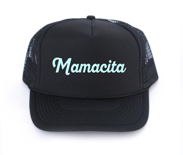 The Mamacita Trucker Hat | Mothersun and the Captain - Amber Moon