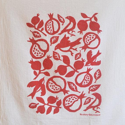 Pomegranate Dish Towel