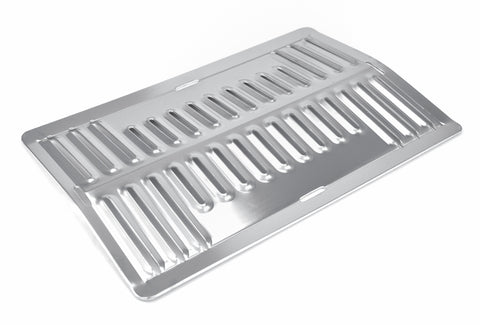 Stainless Steel Korean Bbq Rectangle Grill Plate, Stainless Steel - eKitchenary
