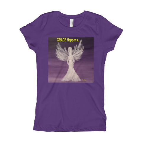 Girl's Angel GRACE Happens T-Shirt