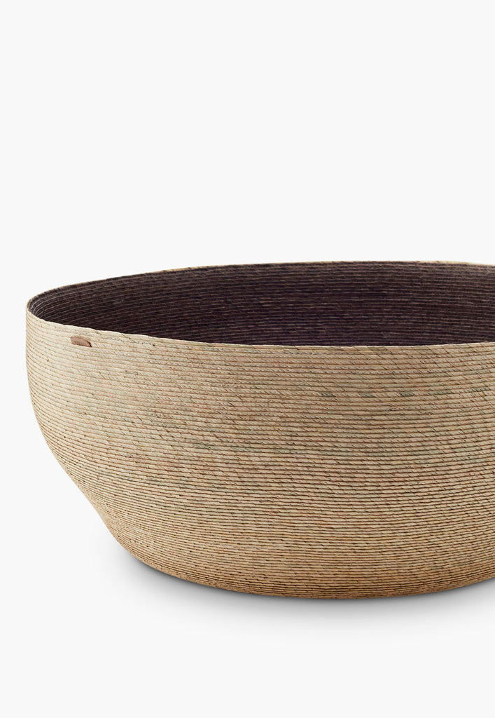 Gray Nido Floor Basket